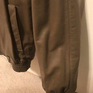 Gorgeous Taupe Reversible Mink/Leather Jacket/Coat